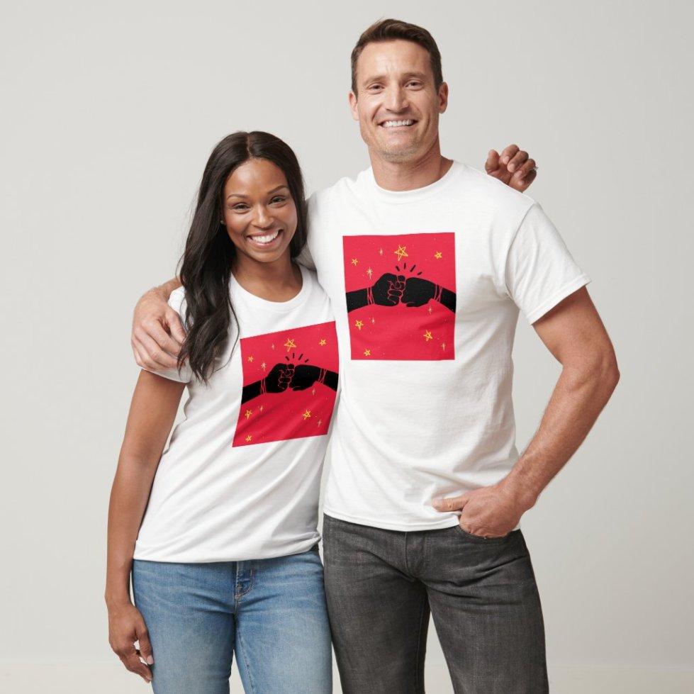 Fist Bump Best Friend T-Shirt