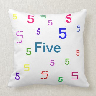 Five Pillow - Decorative Accent Throw Pillow 3 mojo_throwpillow