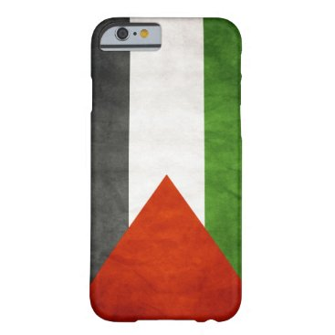 Flag of Palestine - Grunge Barely There iPhone 6 Case