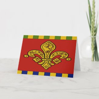 Fleur De Lis card