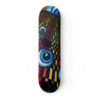 Floating About Skateboard Deck Design CricketDiane skateboard