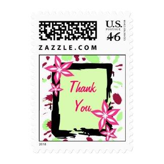Floral frame - Postage