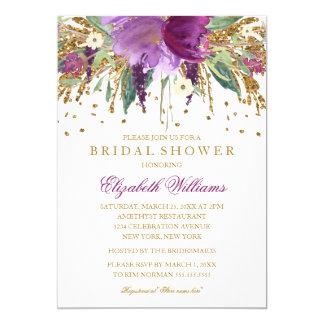 Colorful Brunch Bubbly Bridal Shower Invitation