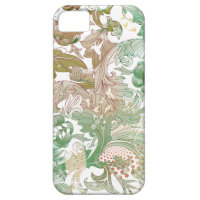 Floral Vintage Pattern iphone5 case iPhone 5 Cover