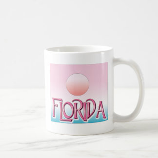 Florida Airbrush Sunset Coffee Mugs