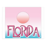 Florida Airbrush Sunset postcards