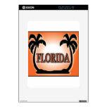 Florida Airbrushed Look Orange Sunset Palm Trees skins