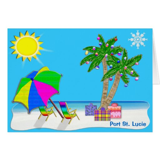 Florida Christmas Cards Florida Christmas Card Templates