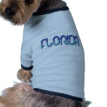 Florida - Blue Gradient pet clothing