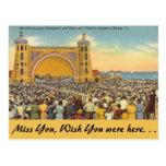 Florida, Daytona Beach Postcard