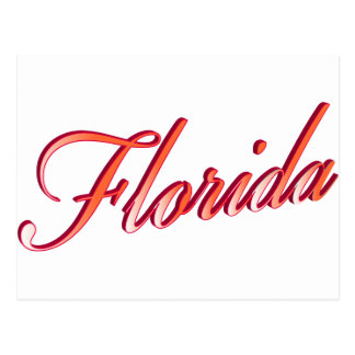 Florida Elegant Script Post Cards