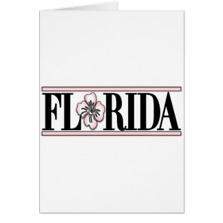 Florida Hibiscus Flower Cards