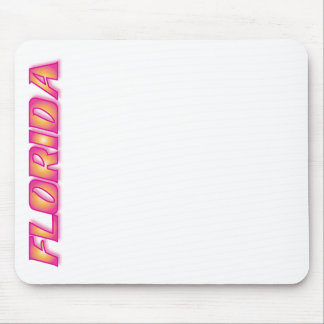FLORIDA Orange & Pink Mouse Pads