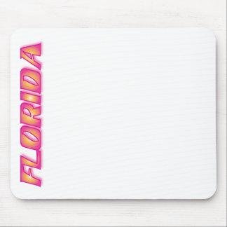 FLORIDA Orange & Pink Mouse Pads