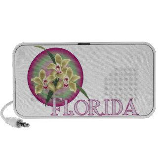 Florida Orchid Trio Travelling Speaker