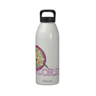 Florida Orchid Trio Water Bottles
