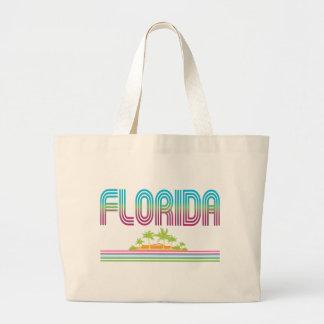 FLORIDA Retro Neon Palm Trees Bag