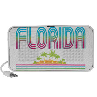 FLORIDA Retro Neon Palm Trees iPhone Speaker