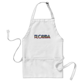 Florida Seaside - Rainbow Text Apron