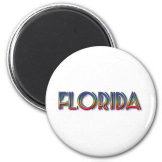 Florida Seaside - Rainbow Text Magnets