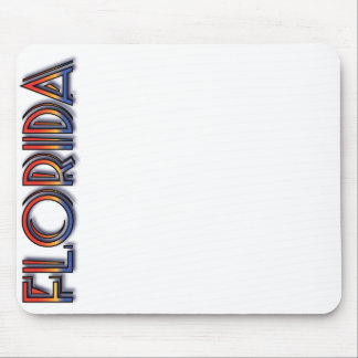 Florida Seaside - Rainbow Text Mousepad
