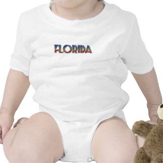 Florida Seaside - Rainbow Text Tee Shirt