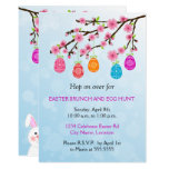 Sweet Flowering Branch Easter Brunch Invitation