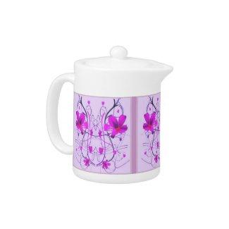 Flowers Deco Tea Pot teapot