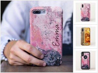 Fluid Pour Art Phone Cases