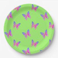 Flutter-Byes paper plate