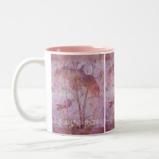 Flying Turkeys Two-Tone Coffee Mug
