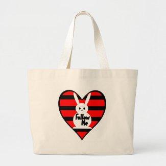 Follow Me White Rabbit bag