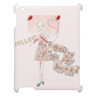 Follow the direction of your true heart iPad covers
