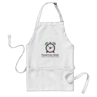 Food Can Wait Apron