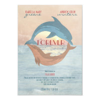 FOREVER - Wedding Movie Poster Style Invitation