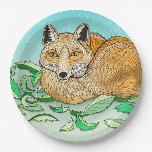 Fox Paper Plates