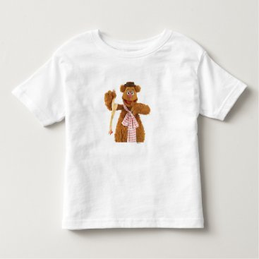 Fozzie Bear holding a rubber chicken Toddler T-shirt