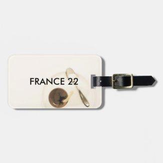 France 22 Luggage Tag