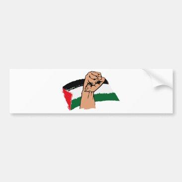 Free Gaza Free Palestine Bumper Sticker