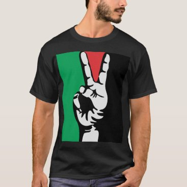 free gaza free palestine PEACE FLAG T-Shirt