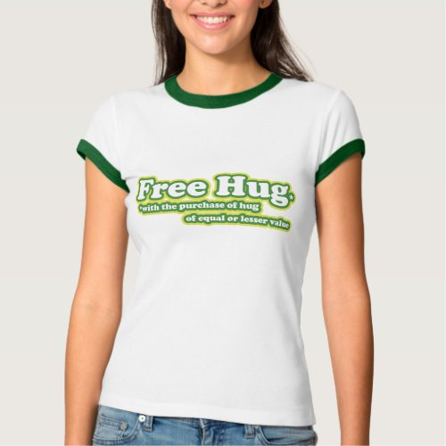 Free Hug Hugs Parody shirt