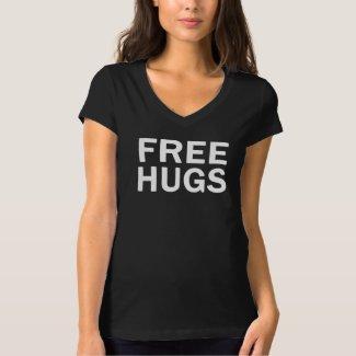 Free Hugs Bella V Neck - Women's Official