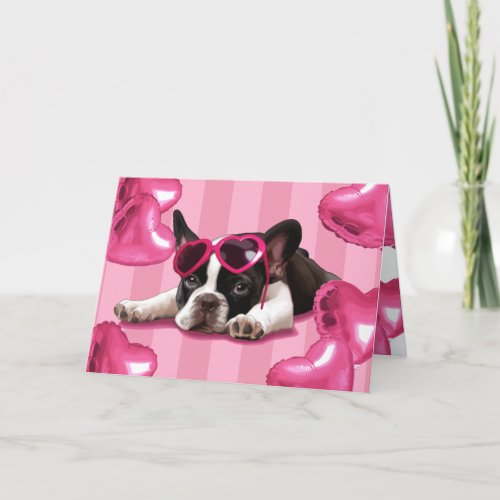 French Bulldog Puppy Card