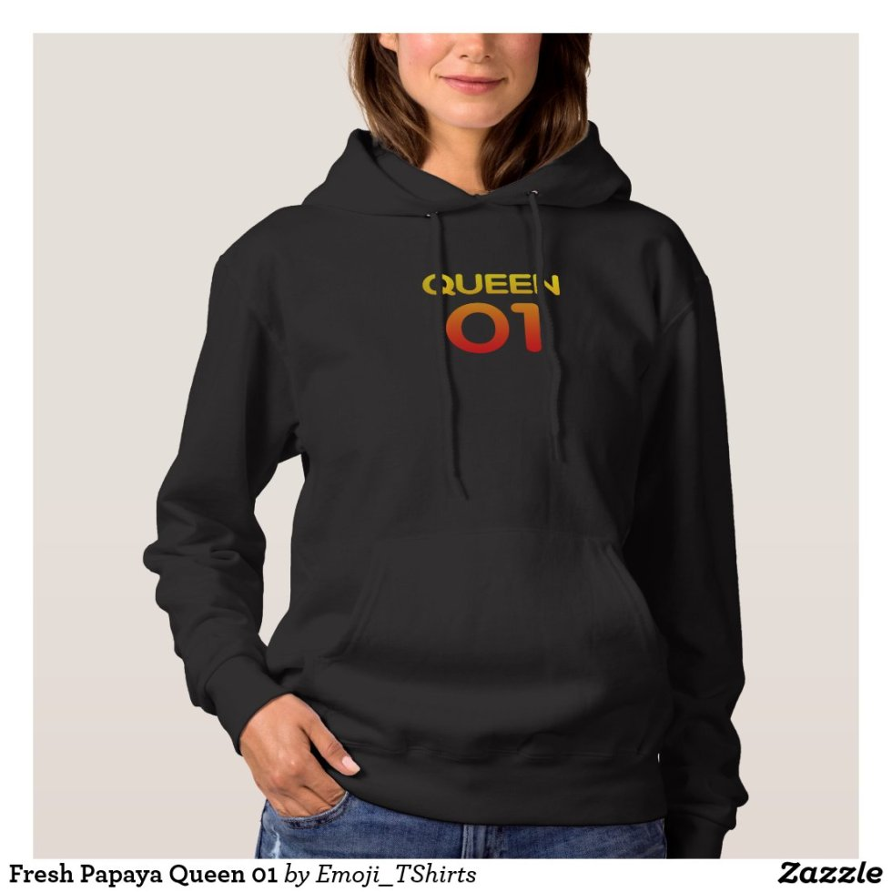 Fresh Papaya Queen 01 Hoodie