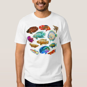 Freshwater Aquarium Fishes T-Shirt