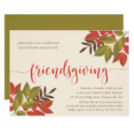FRIENDSGIVING DINNER INVITE | BRIGHT FOLIAGE