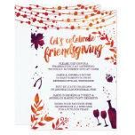 Friendsgiving Thanksgiving Dinner Invitation