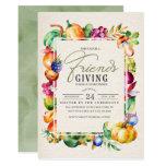 Friendsgiving Thanksgiving Dinner Party Invitation