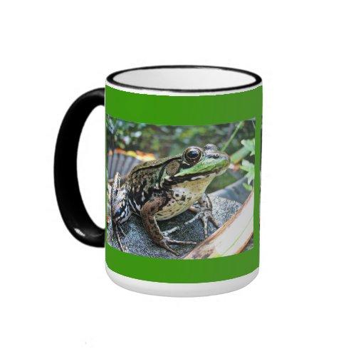 Frog Mug zazzle_mug