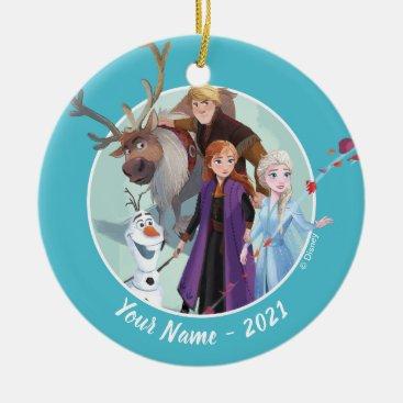 Frozen 2: Anna, Elsa & Friends   Change Ceramic Ornament